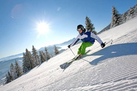 Skiing holiday in Austria