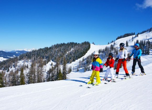 Perfect slopes for the whole family in Alpendorf