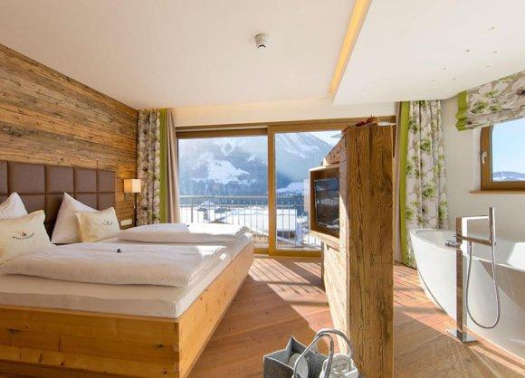 Panoramasuite deluxe | Hotel Alpendorf **** St. Johann / Pg.