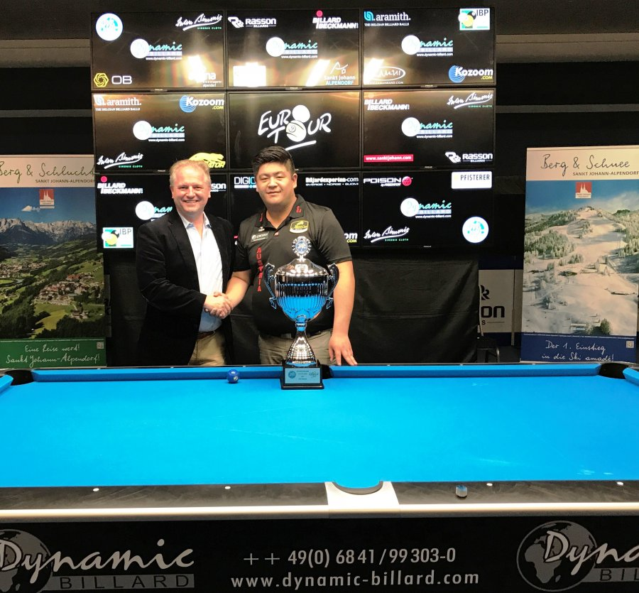 Pool-Billard Euro Tour 2018